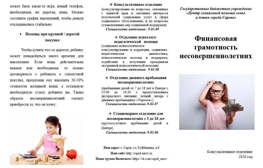 Финансовая грамотность (ф.2)